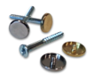 SCN/SCB - Screw & Cap Hardware - Nickel or Brass