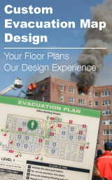 How to create a building evacuation map